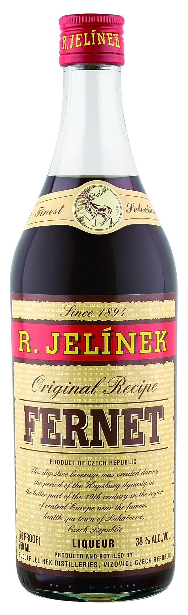 R. Jelinek Fernet Liqueur