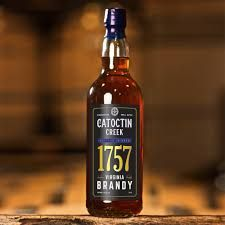 Catoctin Creek 1757 Virginia Bottled in Bond 8 Yr Brandy
