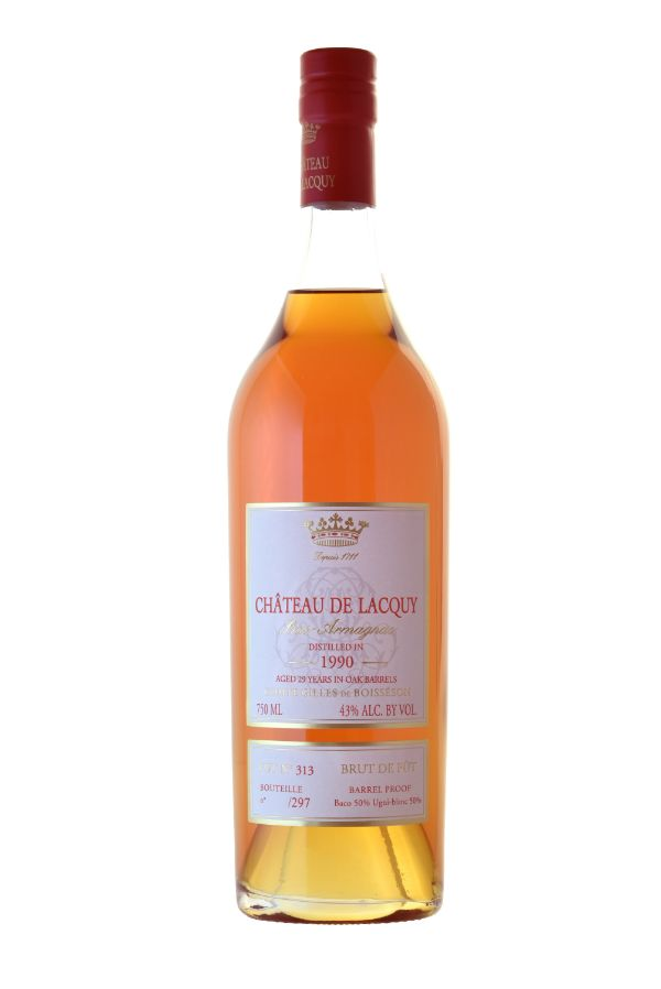 Chateau de Lacquy 1990 Vintage Armagnac