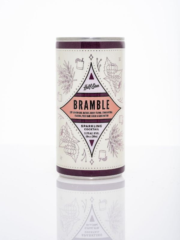 Half Seas Sparkling Bramble Canned Cocktail
