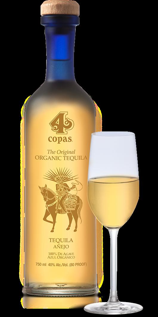 4 Copas Anejo Tequila