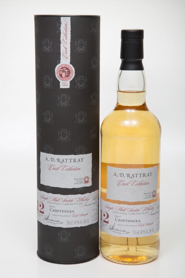 A.D. Rattray Croftengea 2005 12 Yr #320 Single Malt