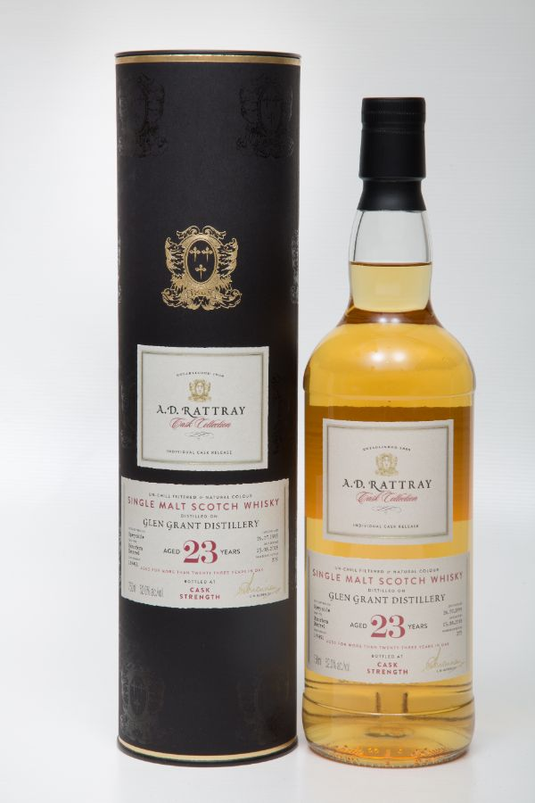 A.D. Rattray Glen Grant 1995 23 Yr #119451 Single Malt