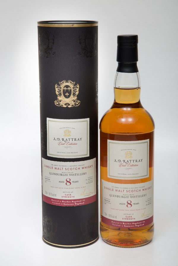 A.D. Rattray Glenburgie 2010 8 Yr #11 Single Malt