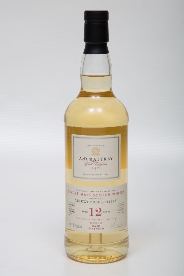 A.D. Rattray Linkwood 2006 12 Yr #63 Single Malt