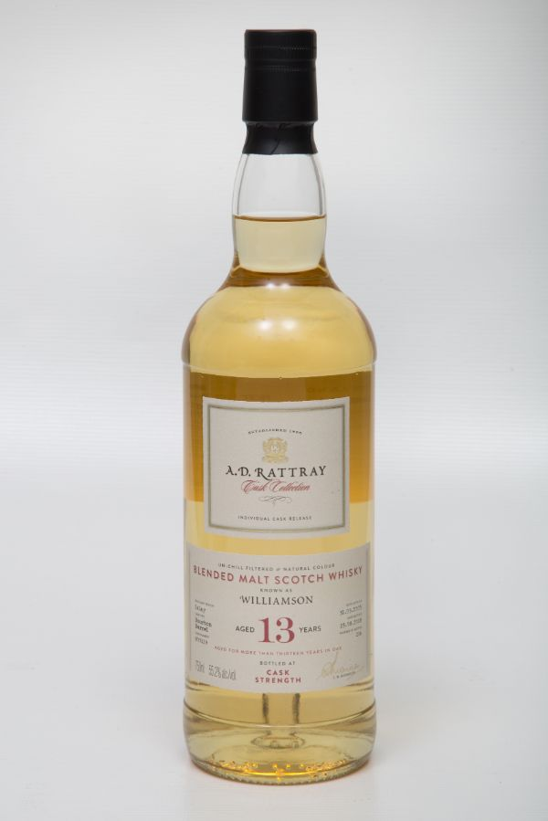 A.D. Rattray Williamson 2005 13 Yr #800119 Single Malt