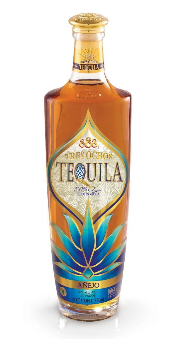 888 Tres Ochos Anejo Tequila