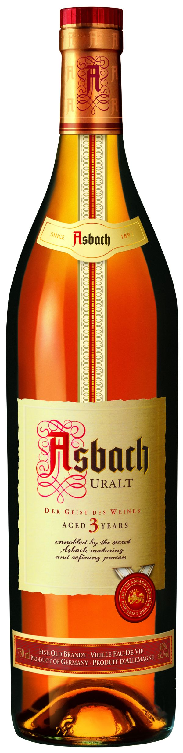 Asbach Uralt 3 Yr Brandy