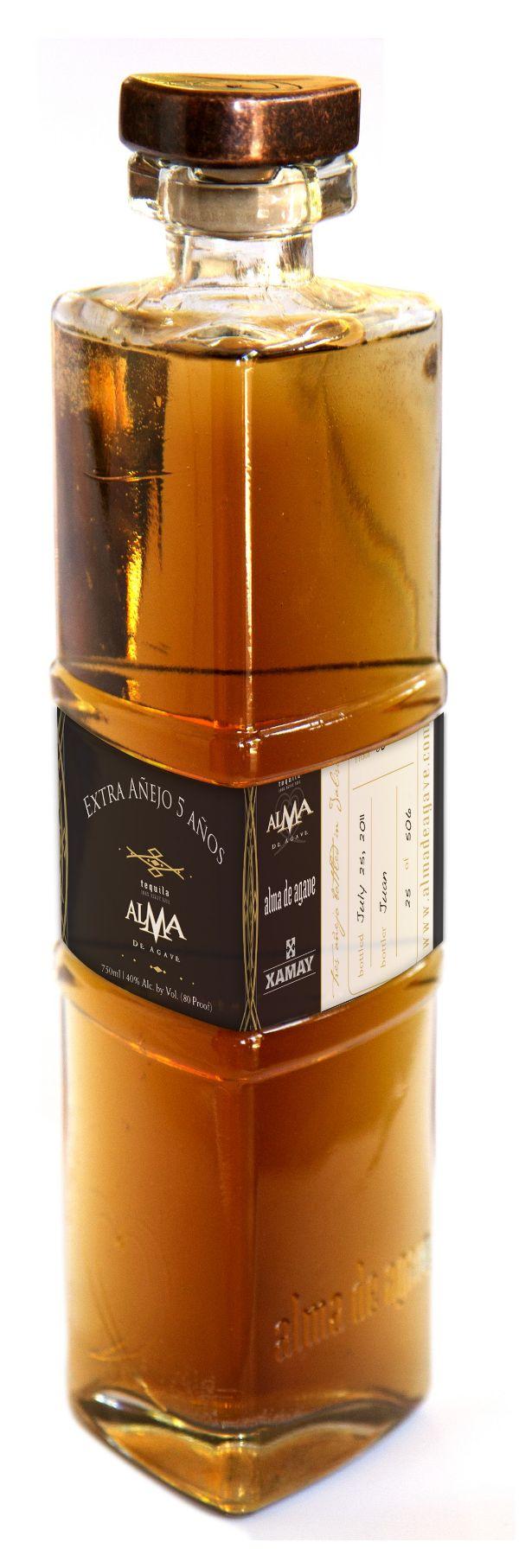 Alma de Agave Autentico 5 Yr Extra Anejo Tequila