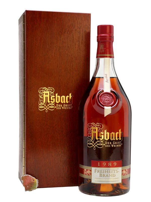 Asbach 1989 Freiheitsbrand Brandy