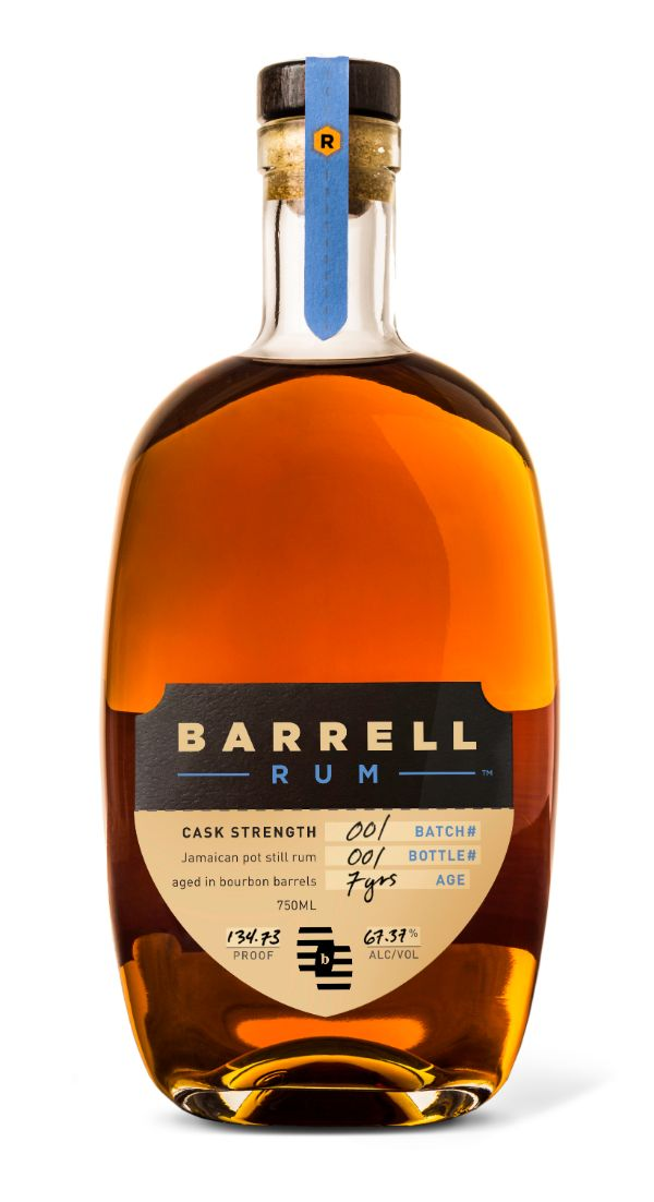 Barrell Craft Spirits Cask Strength Rum Batch 001