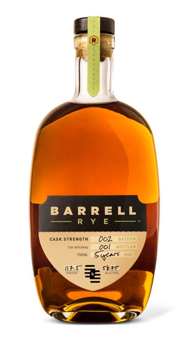 Barrell Rye Batch #002 5 YR