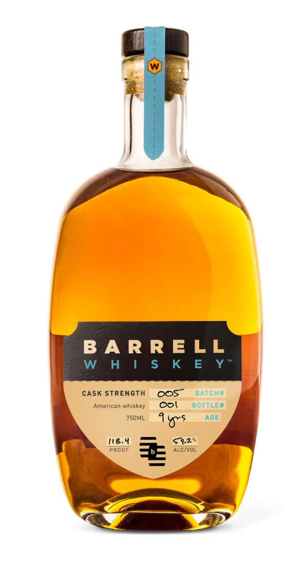Barrell Whiskey Batch #005 9 YR