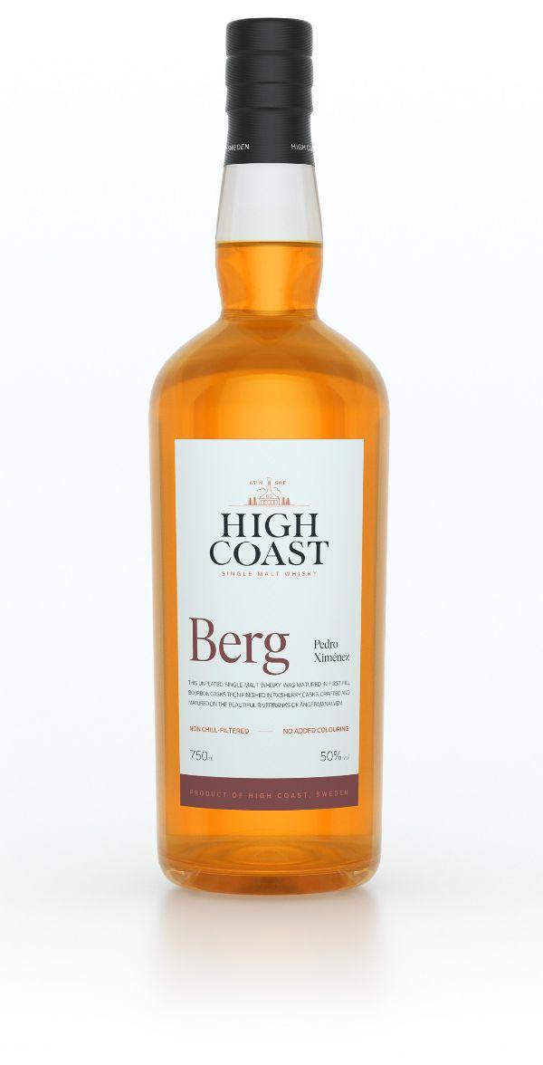 High Coast BERG Unpeated Single Malt Whiskey