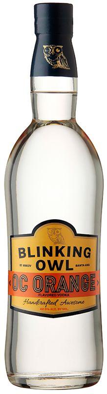 Blinking Owl OC Orange Vodka