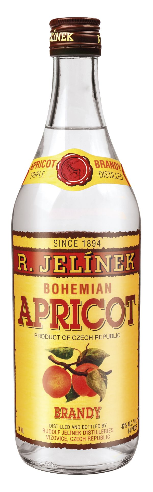 R. Jelinek Bohemia Apricot Brandy