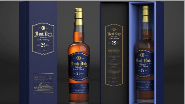 Bank Note 25 Yr Blended Scotch