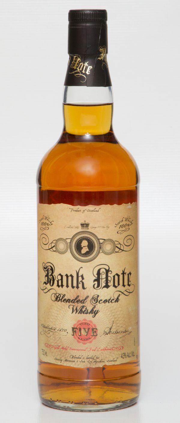 Bank Note Blended Scotch 5 Yr