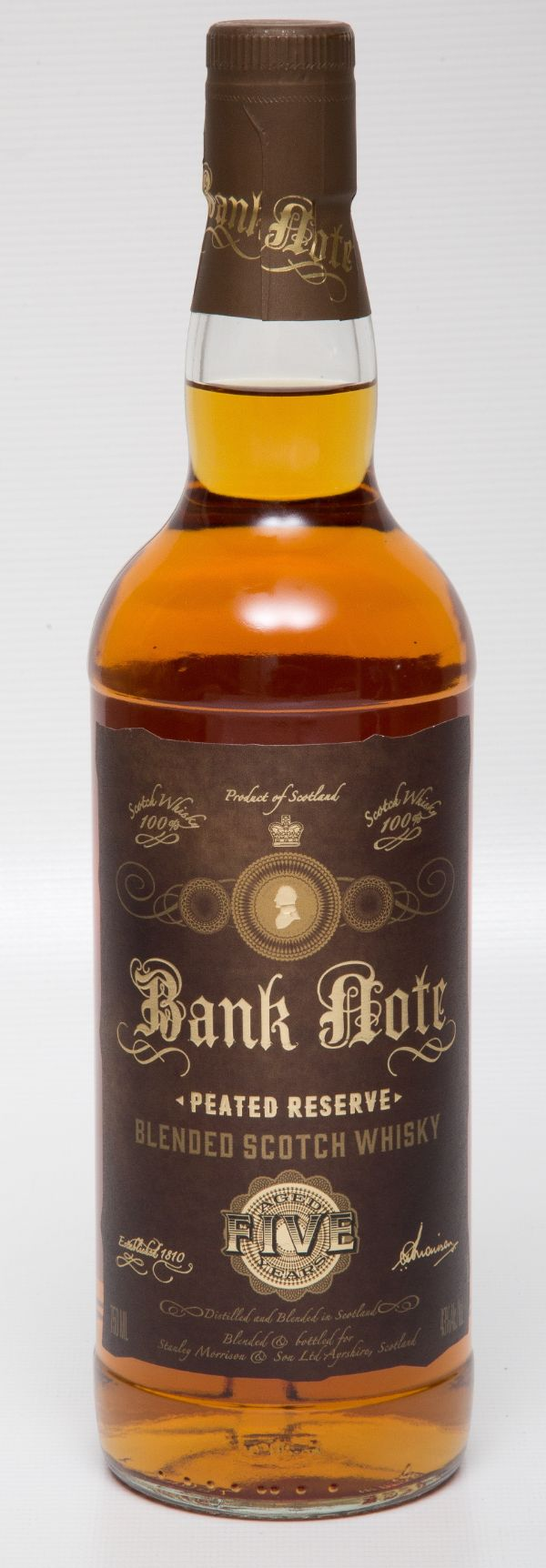 Bank Note Blended Scotch 5 Yr Peated
