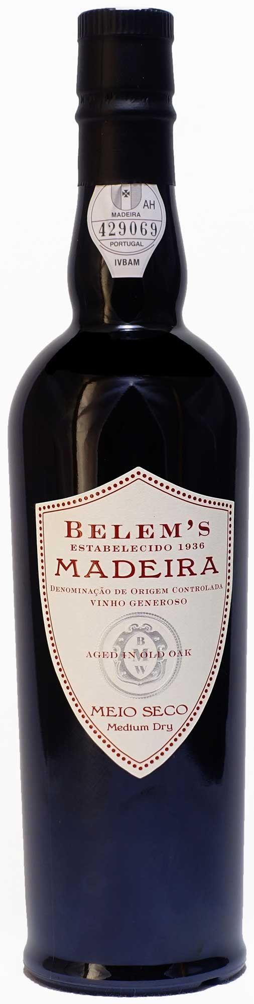 Belem's Madeira Meio Seco