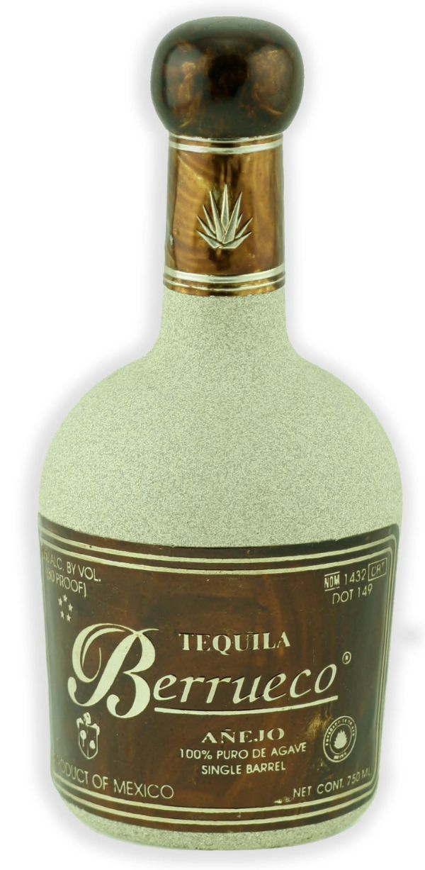 Berrueco 100% Agave Single Barrel Anejo Tequila