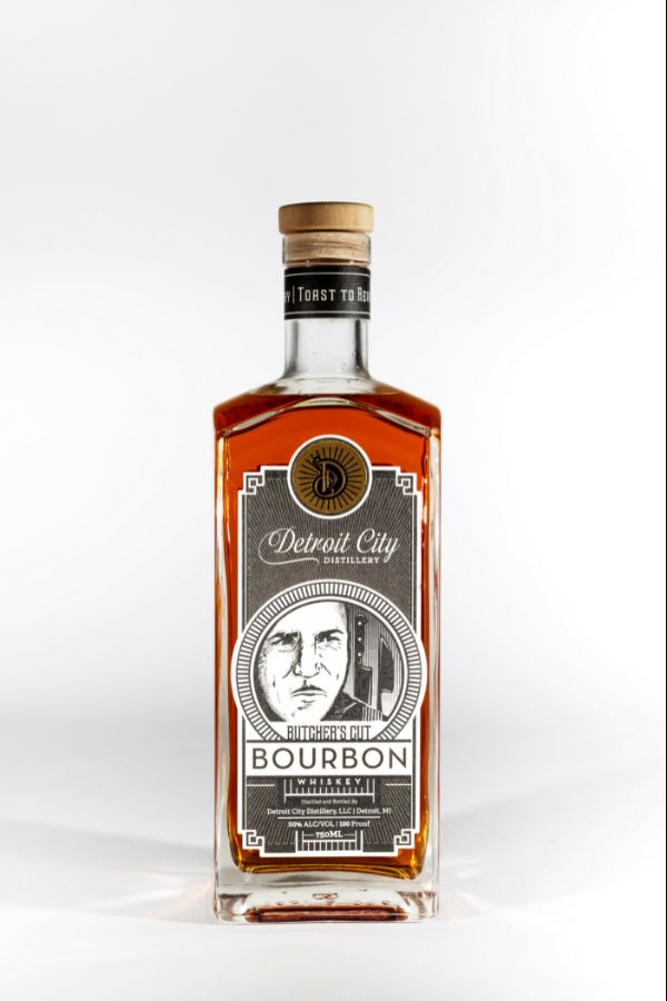 Detroit City Butcher's Cut Bourbon Whiskey