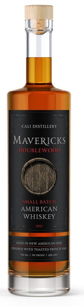 CALI Mavericks Doublewood Small Batch American Whiskey