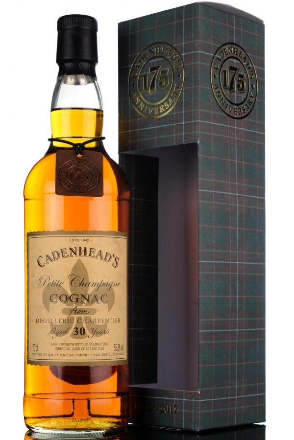 WM Cadenhead Cognac 30 Yr #17