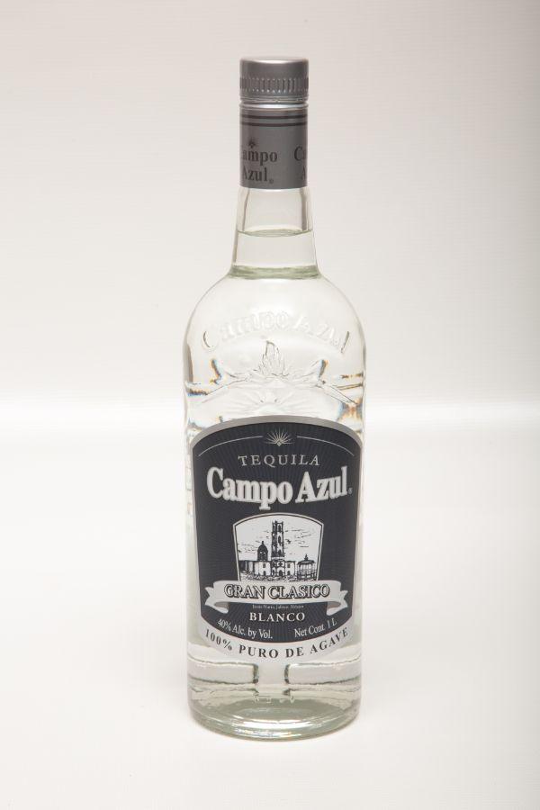 Campo Azul 100% Agave Gran Clasico Blanco Tequila