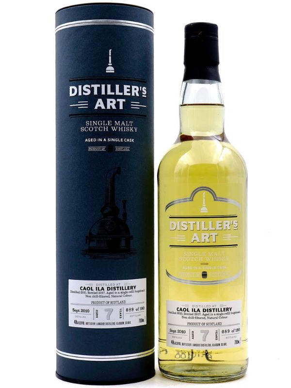 Distiller's Art Caol Ila 7 Yr Single Malt Scotch