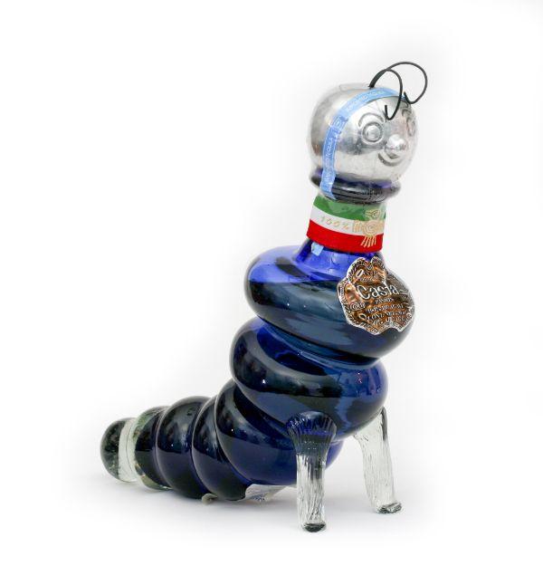 Casta Pasion Blue Worm Anejo Tequila