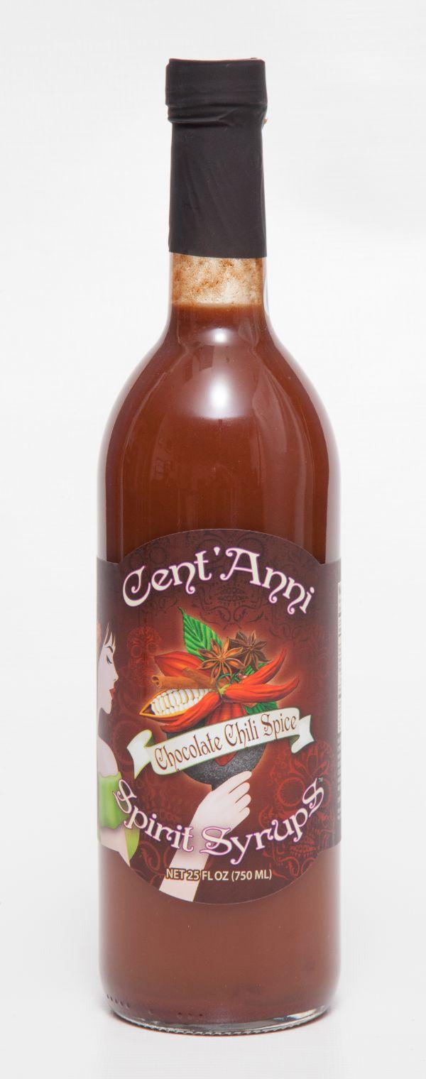 Cent'Anni Chocolate Chili Spice Spirit Syrup