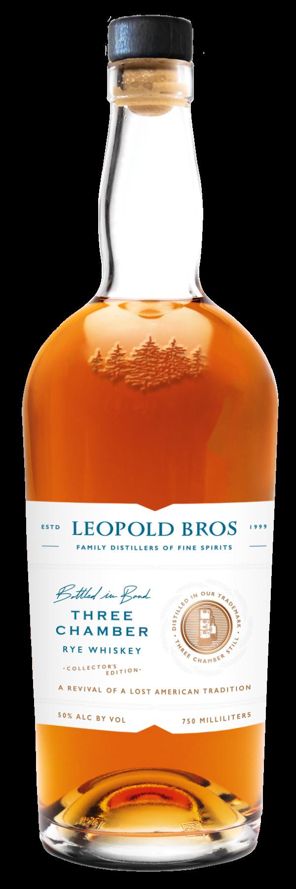 Leopold Three Chamber Rye Whiskey
