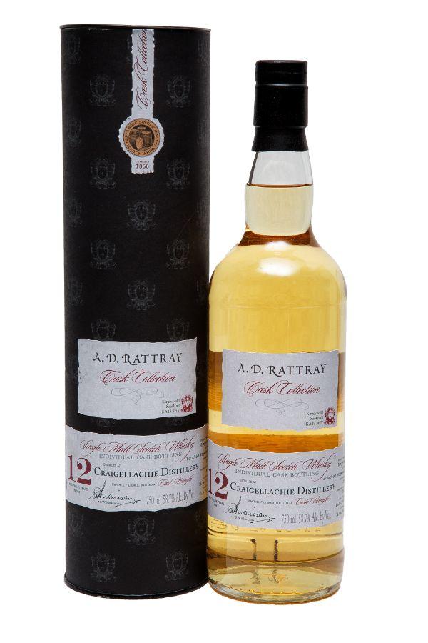 A.D. Rattray Craigellachie 2003 12 YR #125