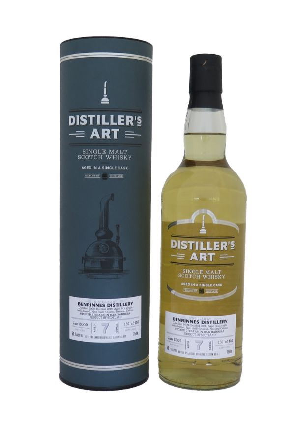 Distiller's Art Benrinnes 2010 7 Yr Single Malt