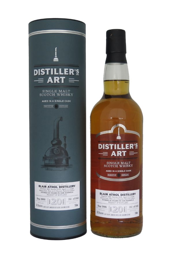 Distiller's Art Blair Athol Sherry Cask 1995 Single Malt