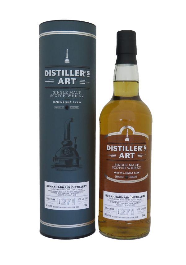 Distillers Art Bunnahabhain 27 Yr Scotch Whiskey