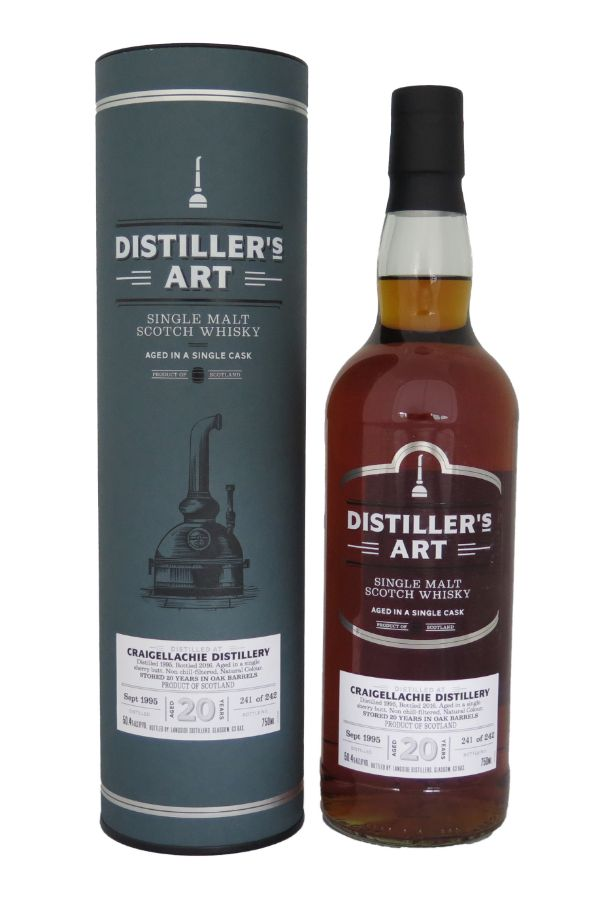 Distillers Art Craigellachie 1995 Scotch Whiskey