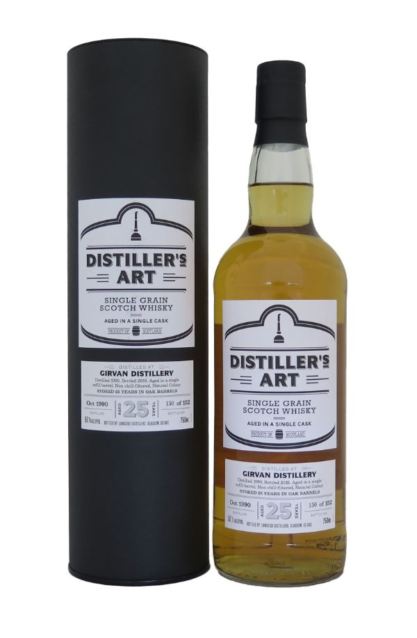Distiller's Art Girvan Grain 1990 Single Malt