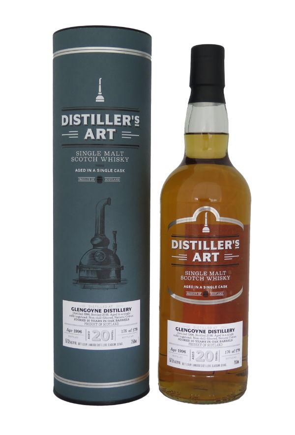 Distiller's Art Glengoyne 1996 20 Yr Single Malt