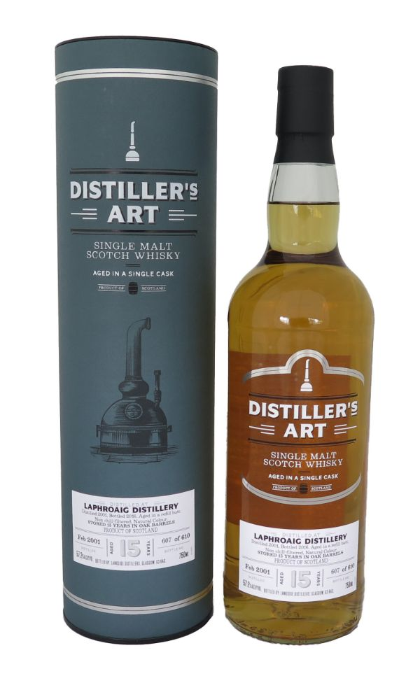 Distillers Art Laphroaig 2001 Sherry Cask Single Malt