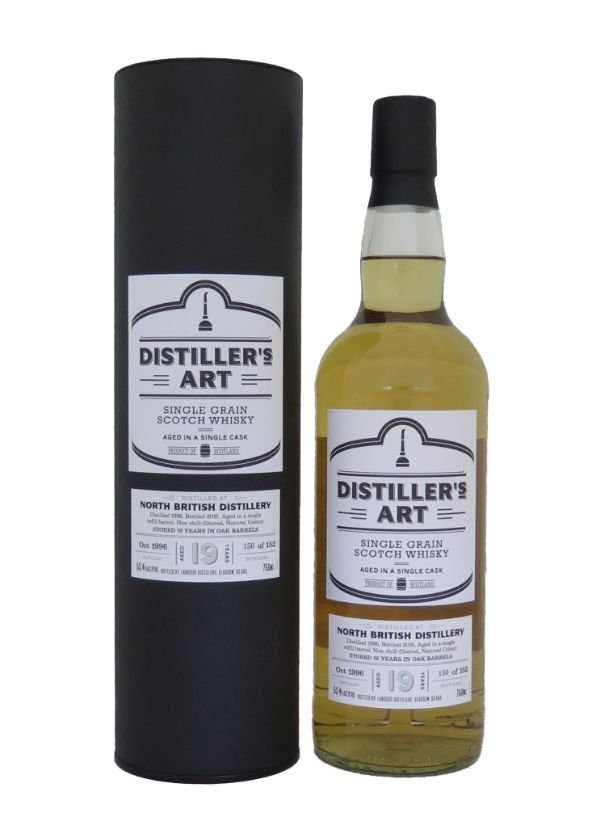 Distiller's Art North British Grain 1996 Single Malt