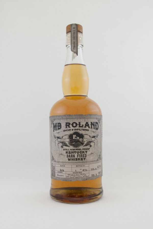 MB Roland Kentucky Dark Fired Whiskey