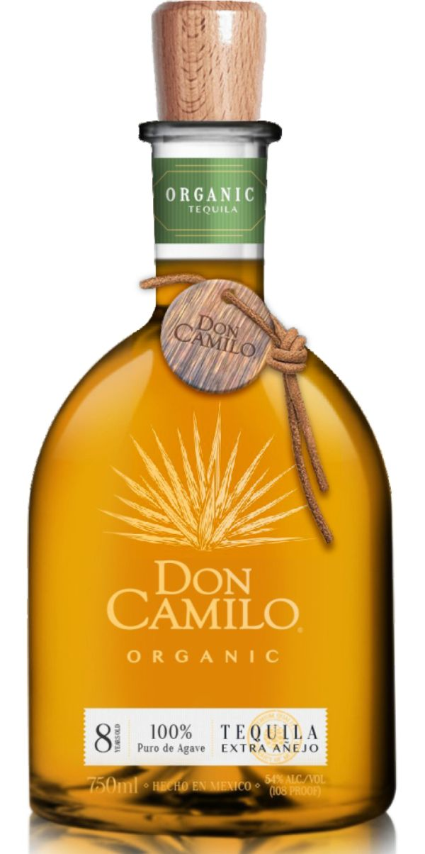 Don Camilo 8 Yr Extra Anejo Organic Tequila