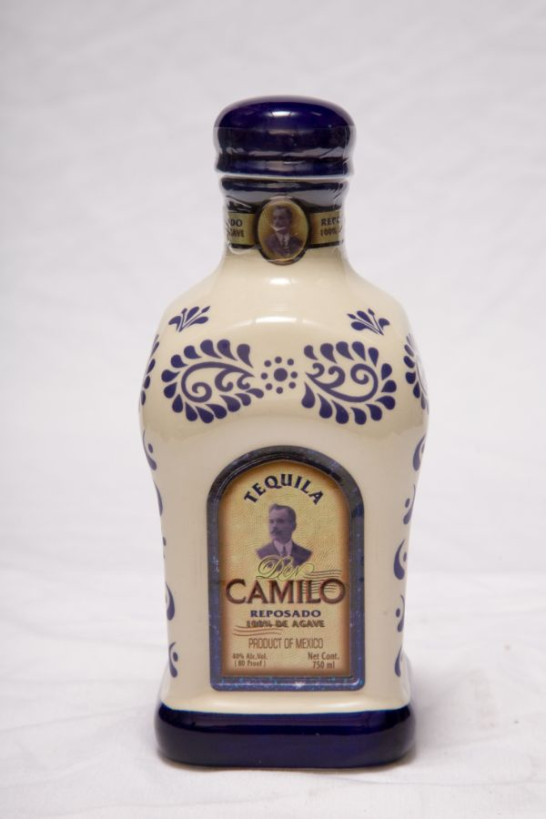 Don Camilo Reposado Ceramic Tequila