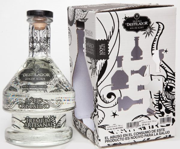 El Destilador Limited Edition Cristalino Anejo Tequila
