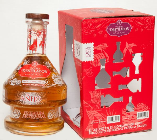 El Destilador Limited Edition Anejo Tequila