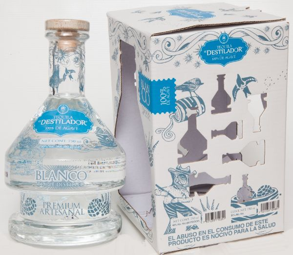 El Destilador Limited Edition Blanco Tequila