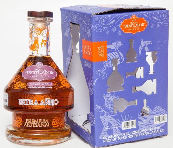 El Destilador Limited Edition Extra Anejo Tequila