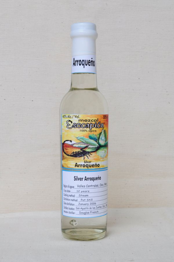 Escorpion Mezcal Arroqueno Silver